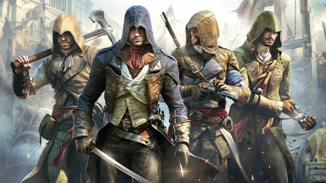 Assassin S Creed Unity Wallpapers Video Game Hq Assassin S