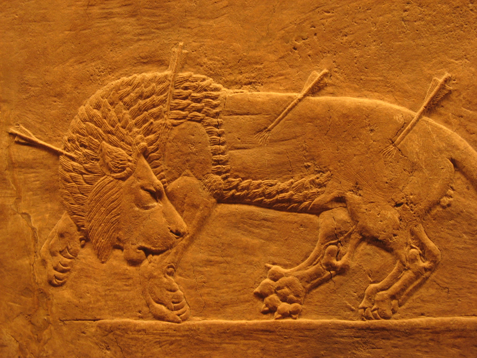 Nice wallpapers Assyria: Lion Hunts 1600x1200px