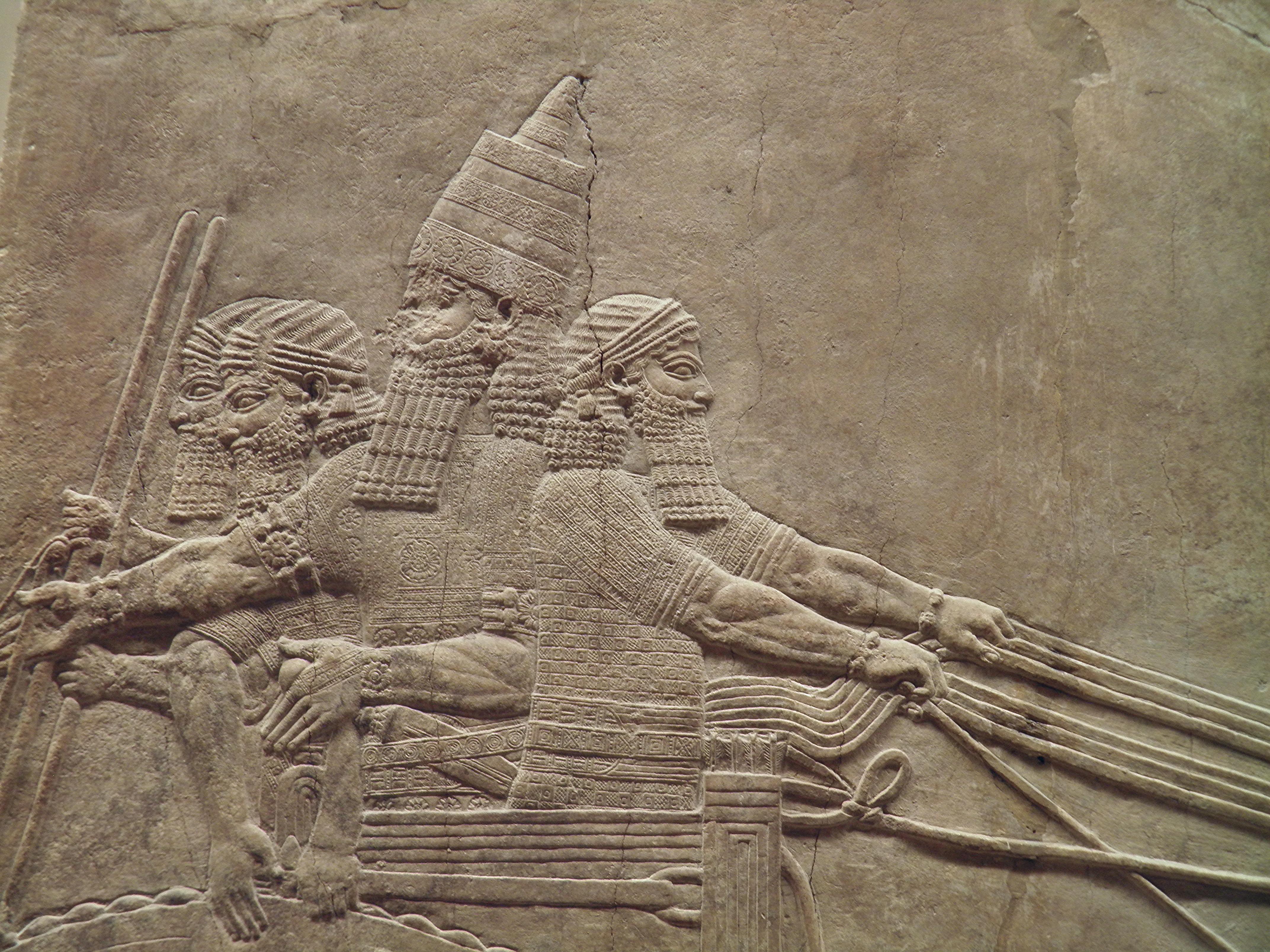 Images of Assyria: Lion Hunts | 4288x3216