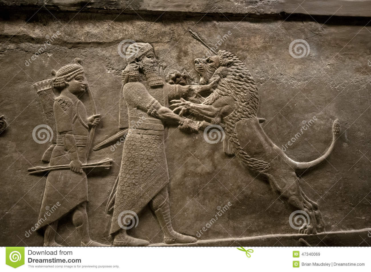 1300x954 > Assyria: Lion Hunts Wallpapers