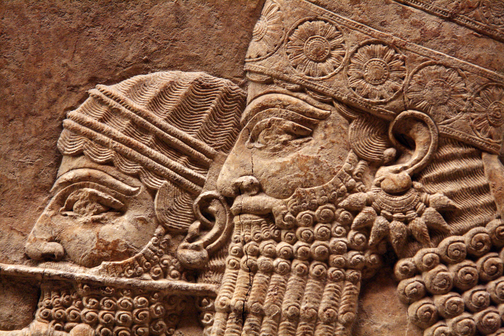 Nice Images Collection: Assyrian King Desktop Wallpapers
