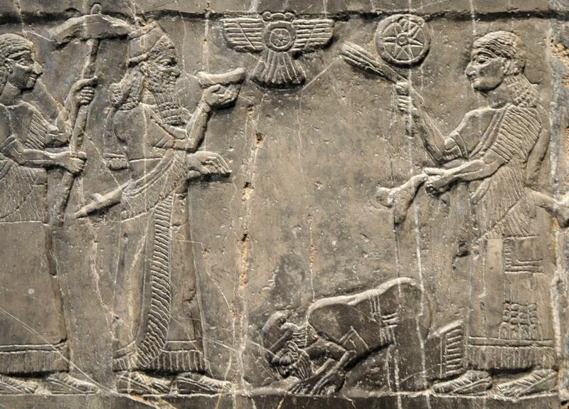 HD Quality Wallpaper | Collection: Artistic, 800x575 Assyrian King