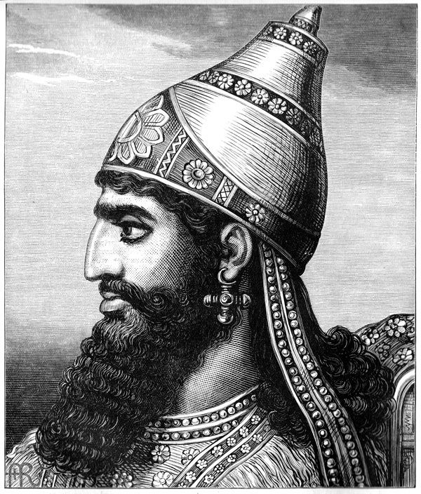 Images of Assyrian King | 600x704