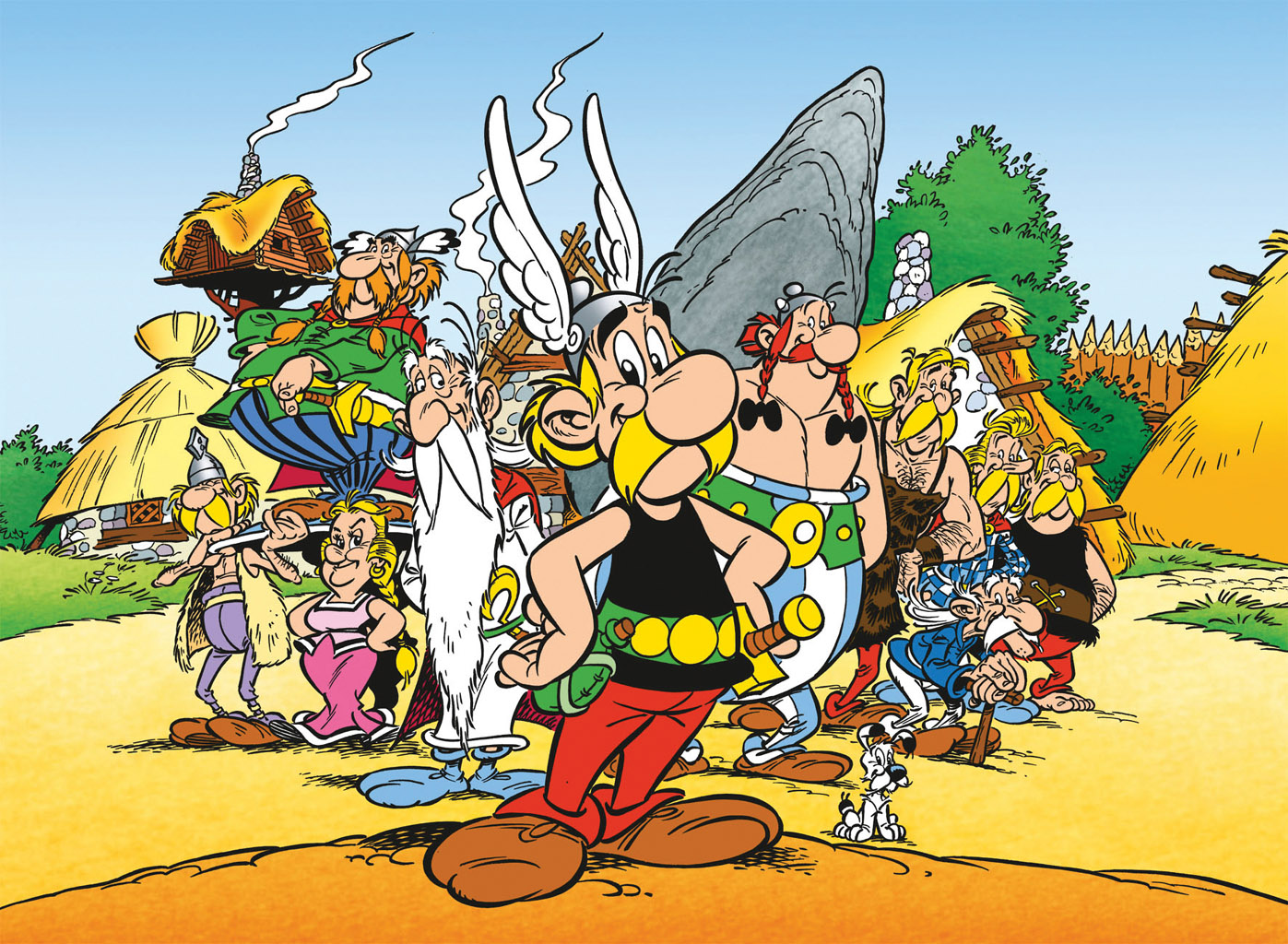 Asterix High Quality Background on Wallpapers Vista