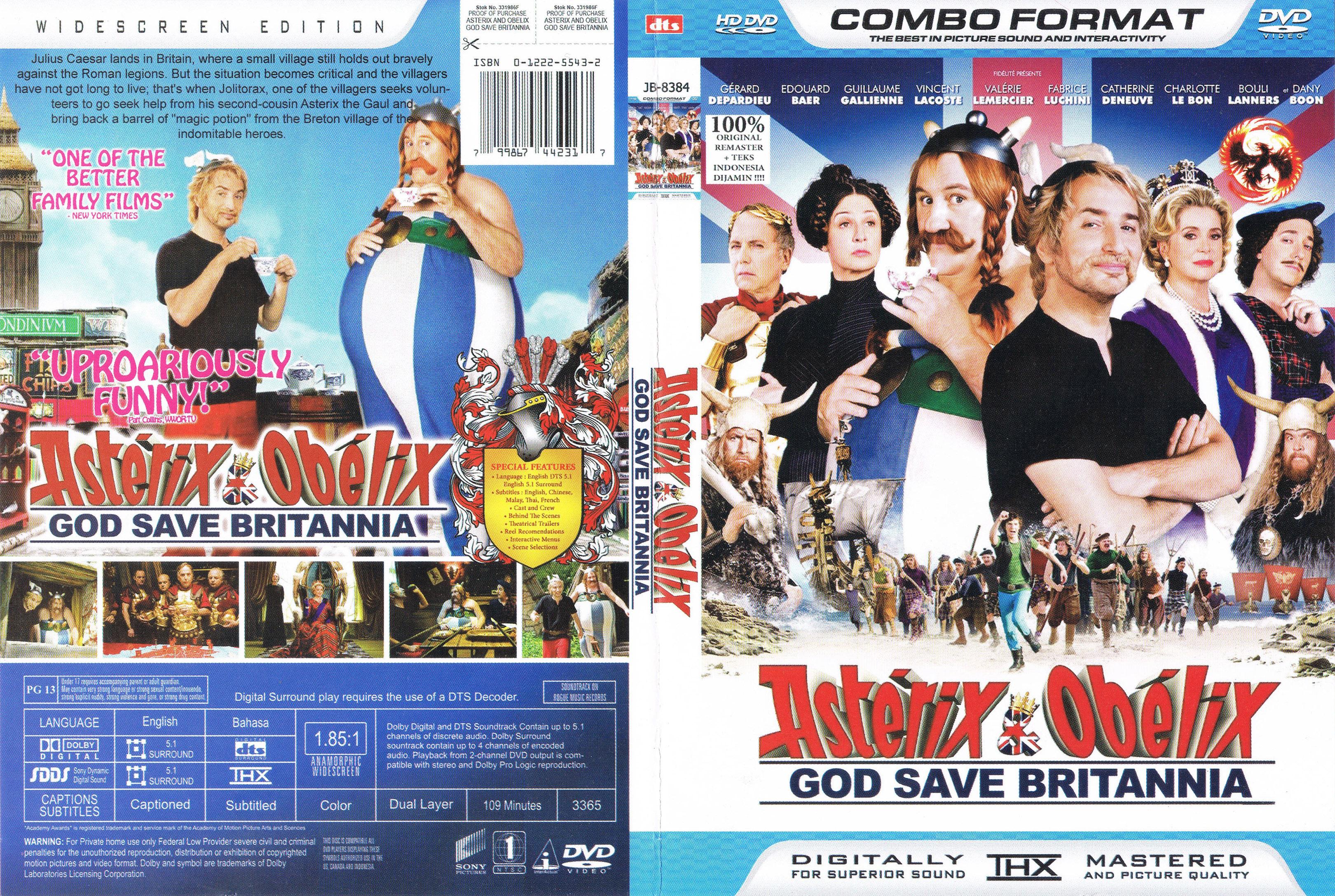 HQ Asterix And Obelix: God Save Britannia Wallpapers | File 3711.11Kb