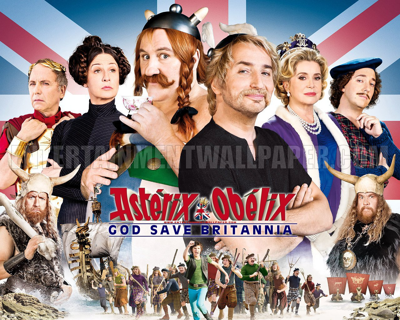 Nice Images Collection: Asterix And Obelix: God Save Britannia Desktop Wallpapers