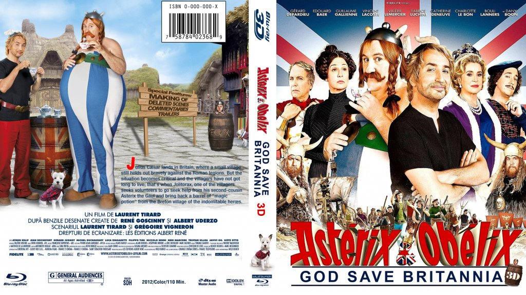 HD Quality Wallpaper | Collection: Movie, 1024x574 Asterix And Obelix: God Save Britannia