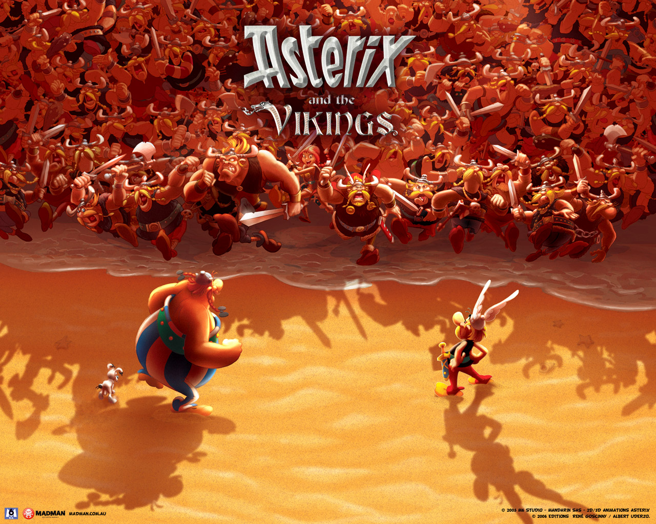 Images of Asterix And The Vikings | 1280x1024