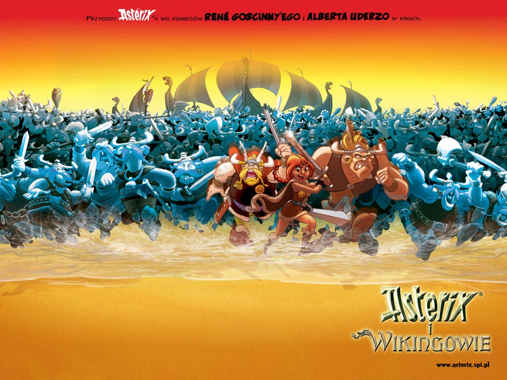 Asterix And The Vikings Backgrounds, Compatible - PC, Mobile, Gadgets| 1024x768 px