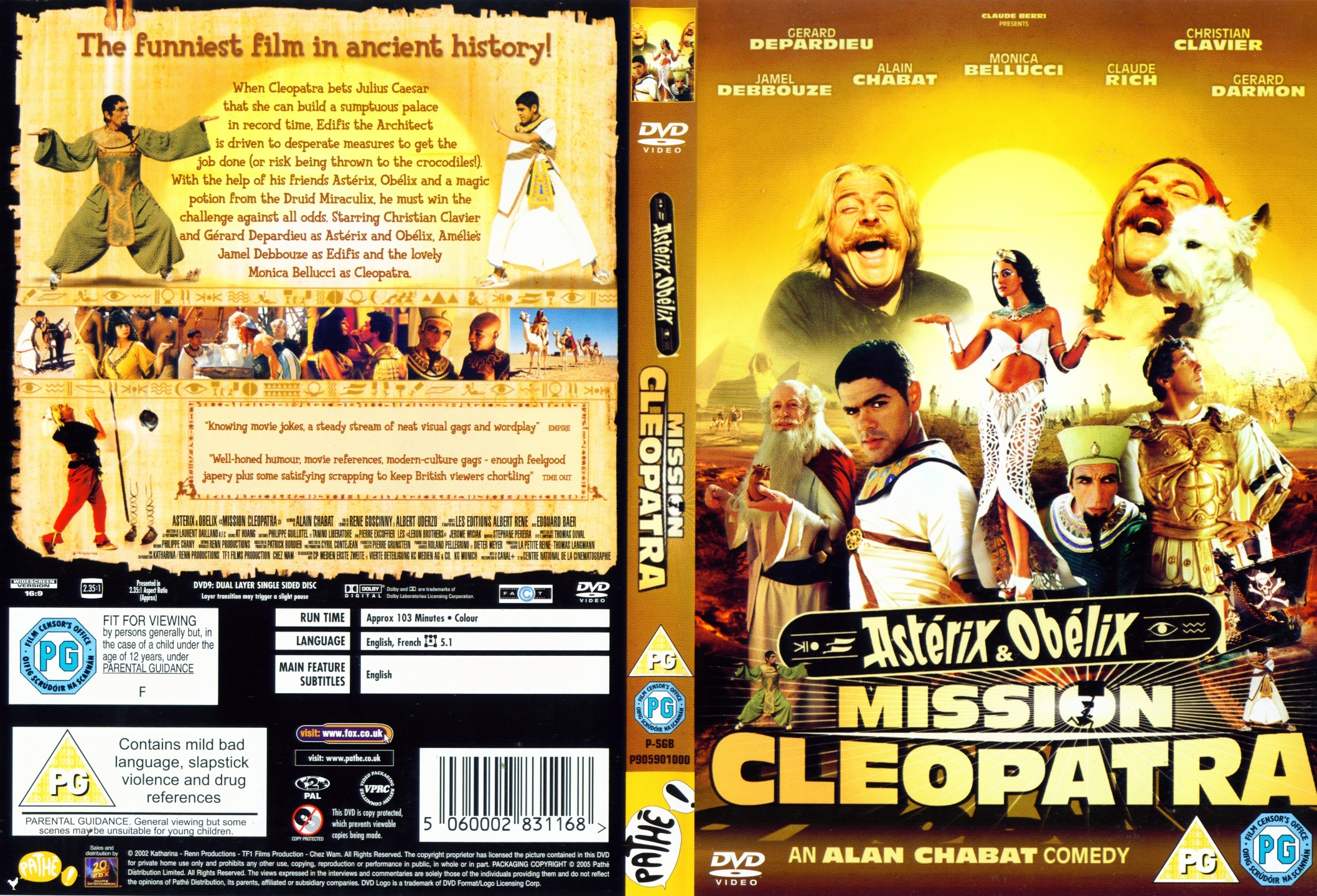 Asterix & Obelix: Mission Cleopatra High Quality Background on Wallpapers Vista
