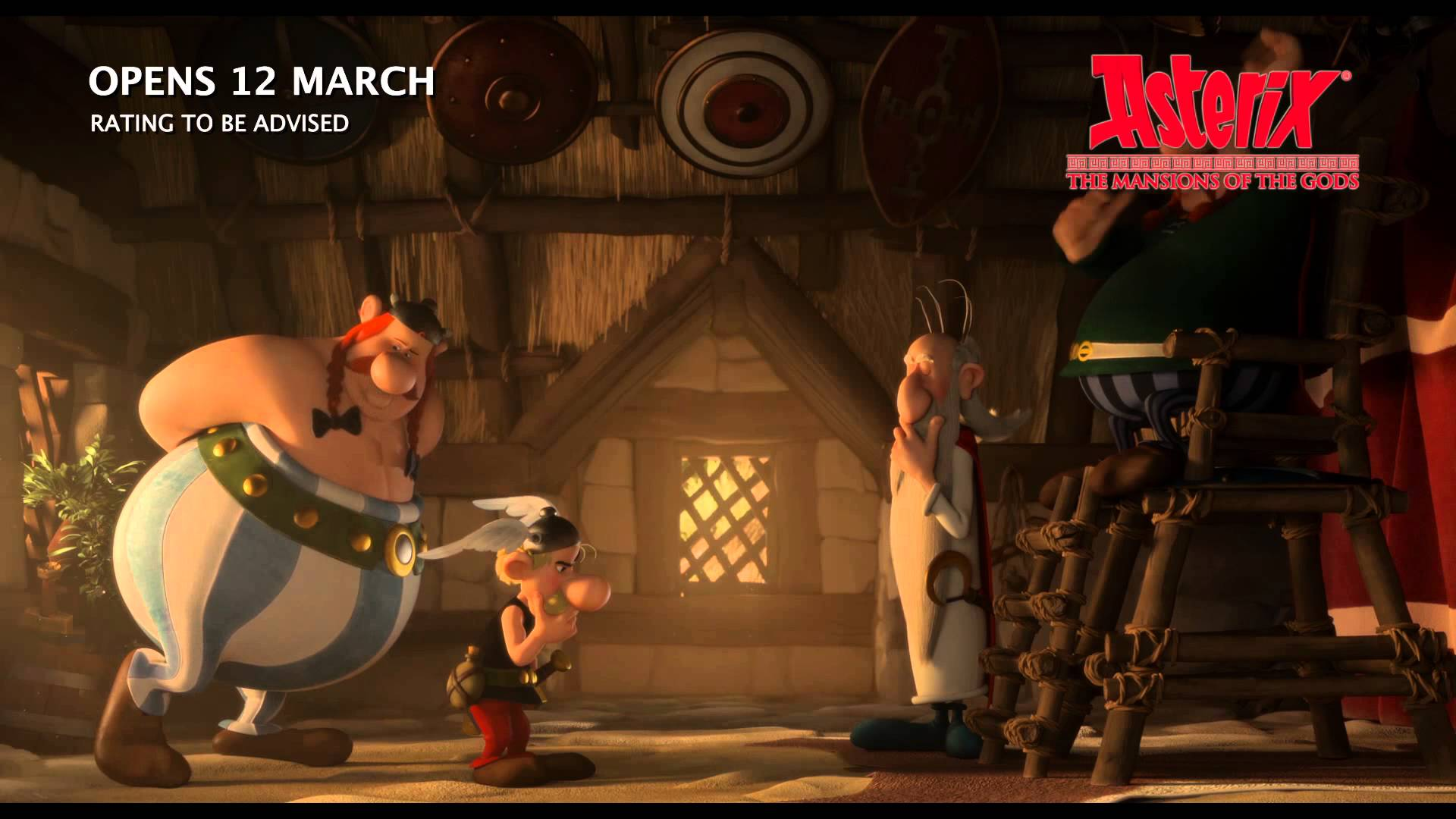 1920x1080 > Asterix: The Land Of The Gods Wallpapers
