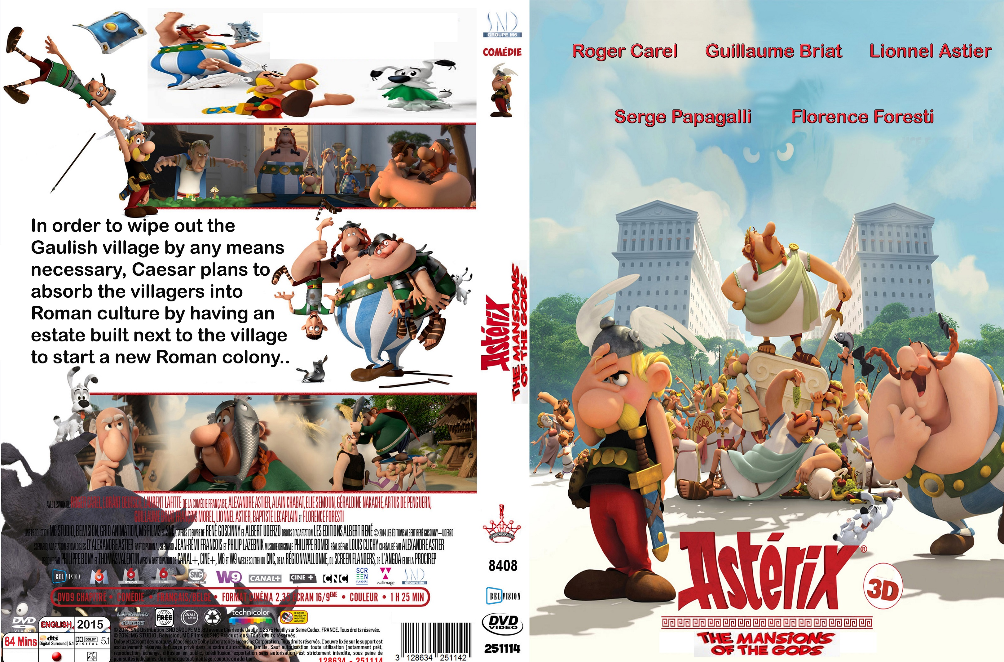 Asterix: The Land Of The Gods Backgrounds on Wallpapers Vista
