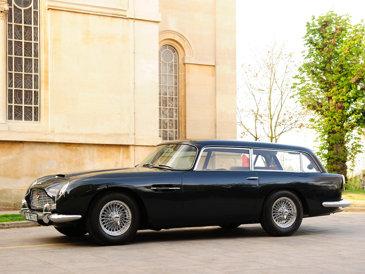 Amazing Aston Martin Shooting Brake Pictures & Backgrounds