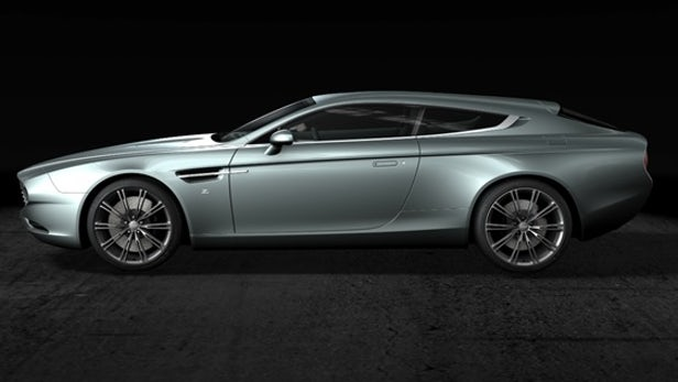 Aston Martin Shooting Brake Backgrounds on Wallpapers Vista