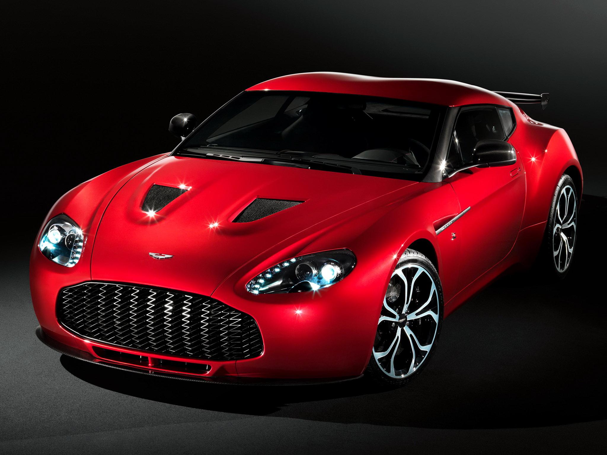 Aston Martin V12 Zagato Pics, Vehicles Collection