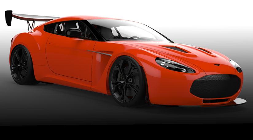 HD Quality Wallpaper | Collection: Vehicles, 824x457 Aston Martin V12 Zagato