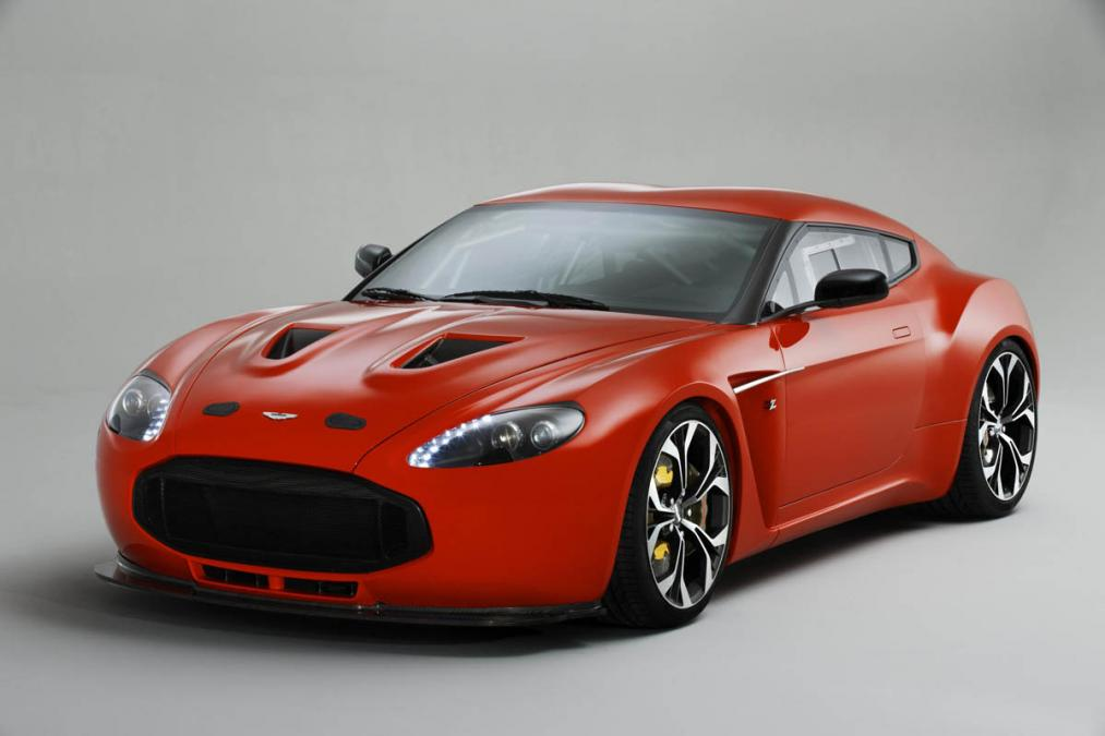 Amazing Aston Martin V12 Zagato Pictures & Backgrounds