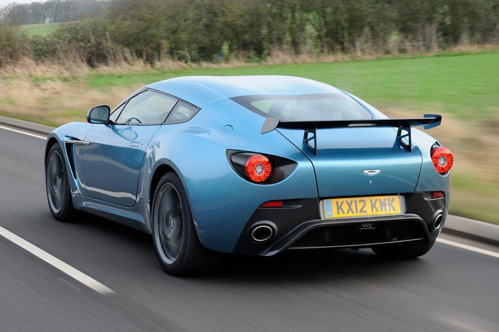 Nice Images Collection: Aston Martin V12 Zagato Desktop Wallpapers