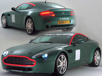High Resolution Wallpaper | Aston Martin V8 Vantage Rally GT 400x300 px