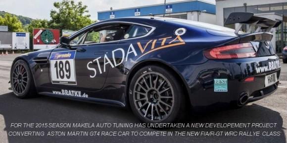 Aston Martin V8 Vantage Rally GT Pics, Vehicles Collection