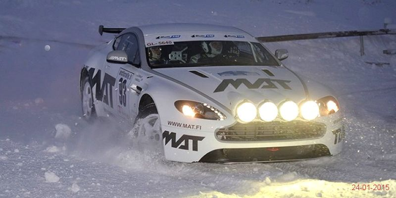 Aston Martin V8 Vantage Rally GT Backgrounds, Compatible - PC, Mobile, Gadgets| 800x400 px