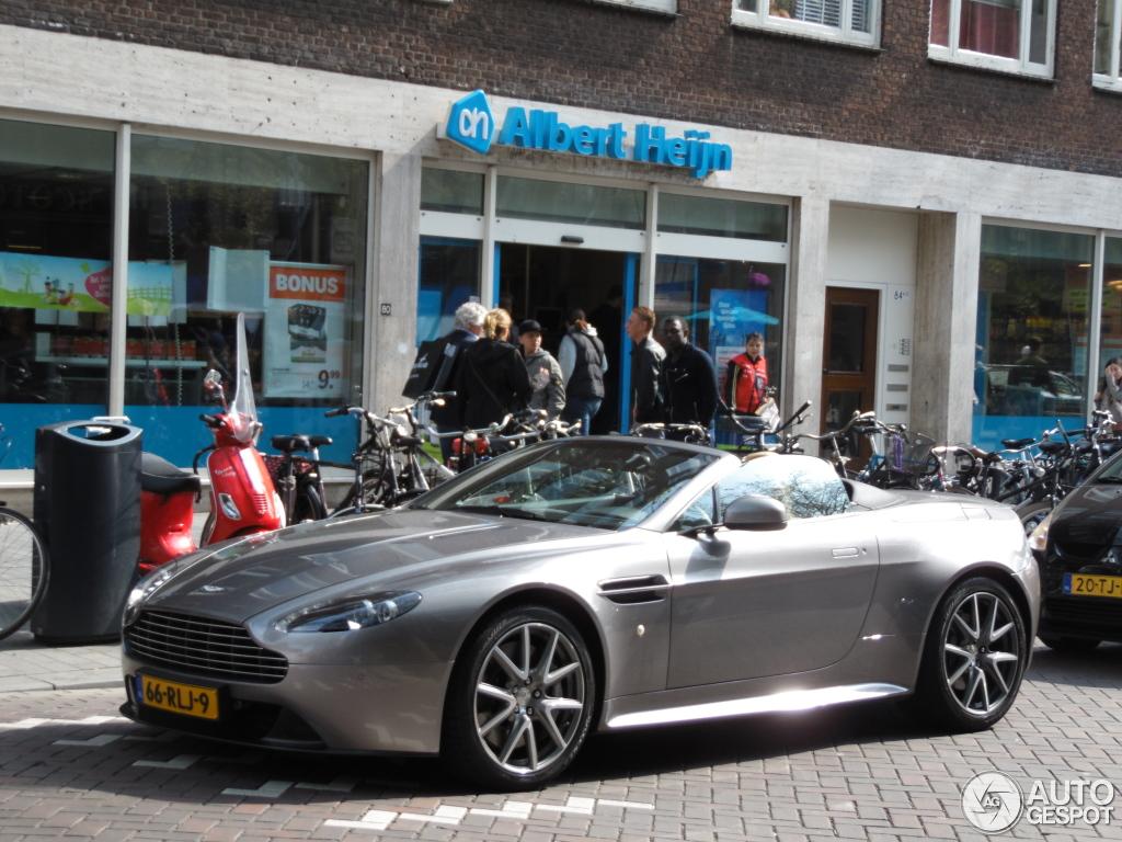 Aston Martin V8 Vantage S Roadster Backgrounds, Compatible - PC, Mobile, Gadgets| 1024x768 px