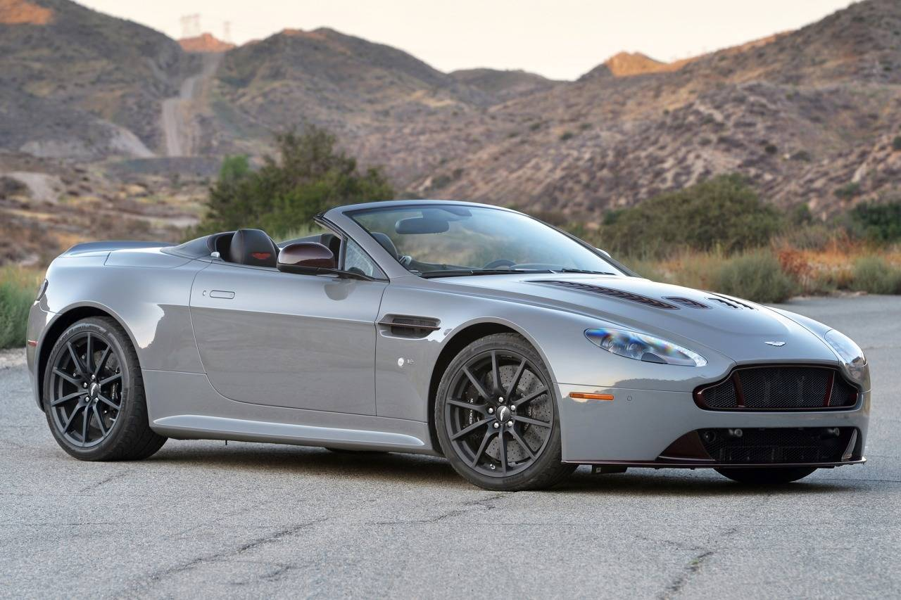 HD Quality Wallpaper | Collection: Vehicles, 1280x853 Aston Martin V8 Vantage S Roadster