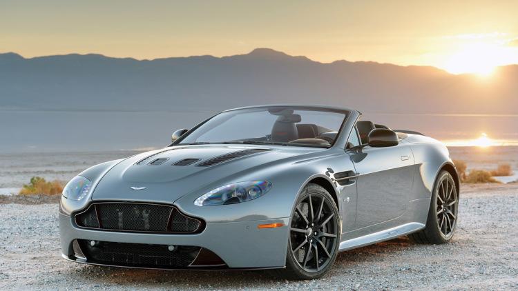 Aston Martin V8 Vantage S Roadster Backgrounds on Wallpapers Vista