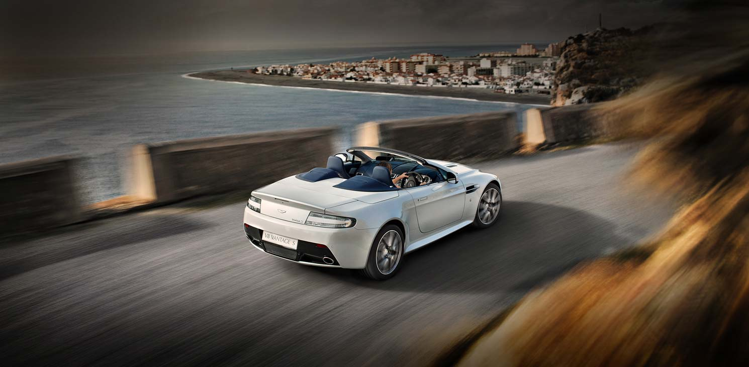 Nice wallpapers Aston Martin V8 Vantage S Roadster 1490x730px
