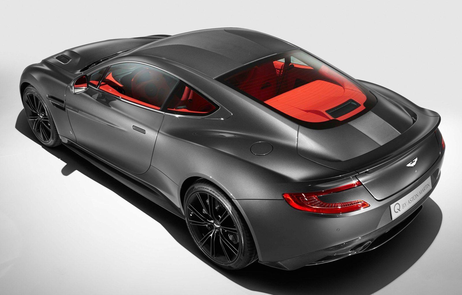 HD Quality Wallpaper | Collection: Vehicles, 1600x1023 Aston Martin Vanquish Q