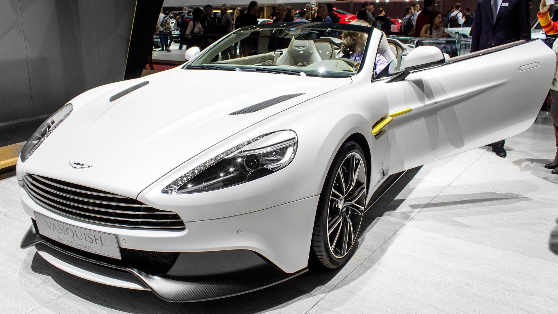 Aston Martin Vanquish Q Pics, Vehicles Collection