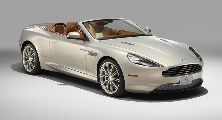 HD Quality Wallpaper | Collection: Vehicles, 739x400 Aston Martin Vanquish Q