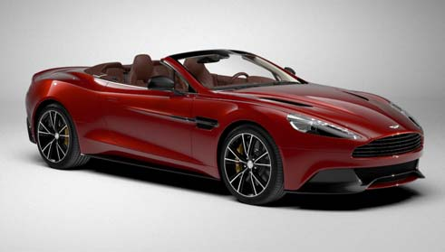 HD Quality Wallpaper | Collection: Vehicles, 491x279 Aston Martin Vanquish Volante