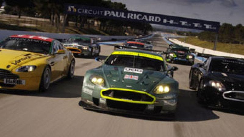 Nice Images Collection: Aston Martin Vantage GT2 Desktop Wallpapers