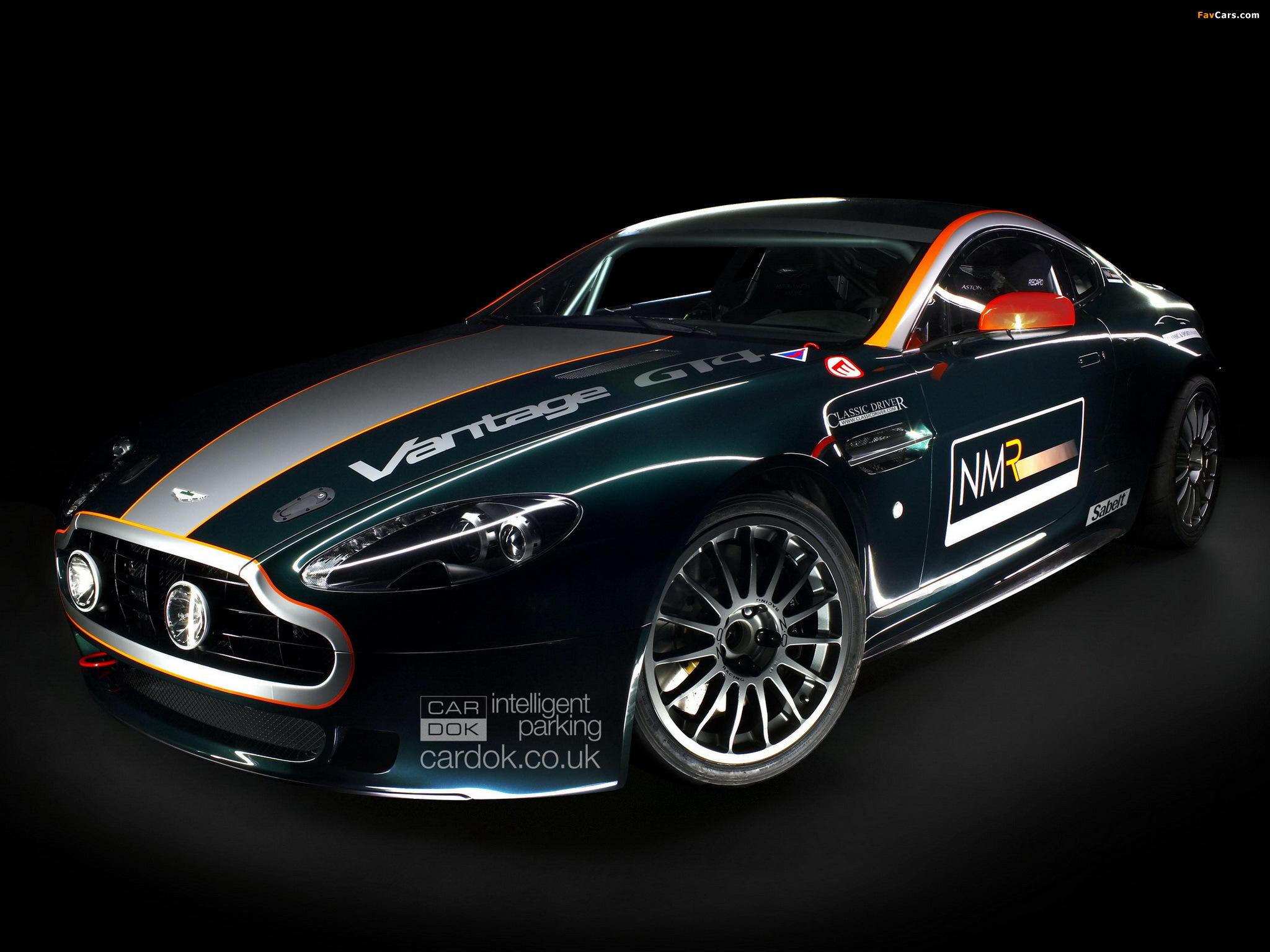 HQ Aston Martin Vantage GT4 Wallpapers | File 504.19Kb