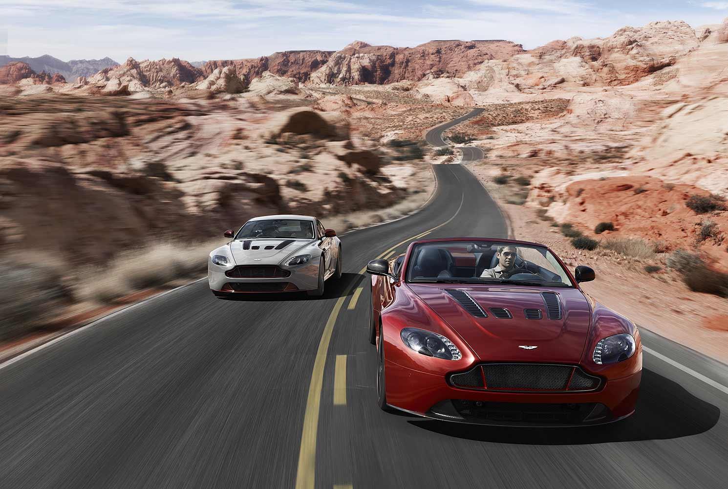 HQ Aston Martin Vantage Roadster Wallpapers   File 162.47Kb