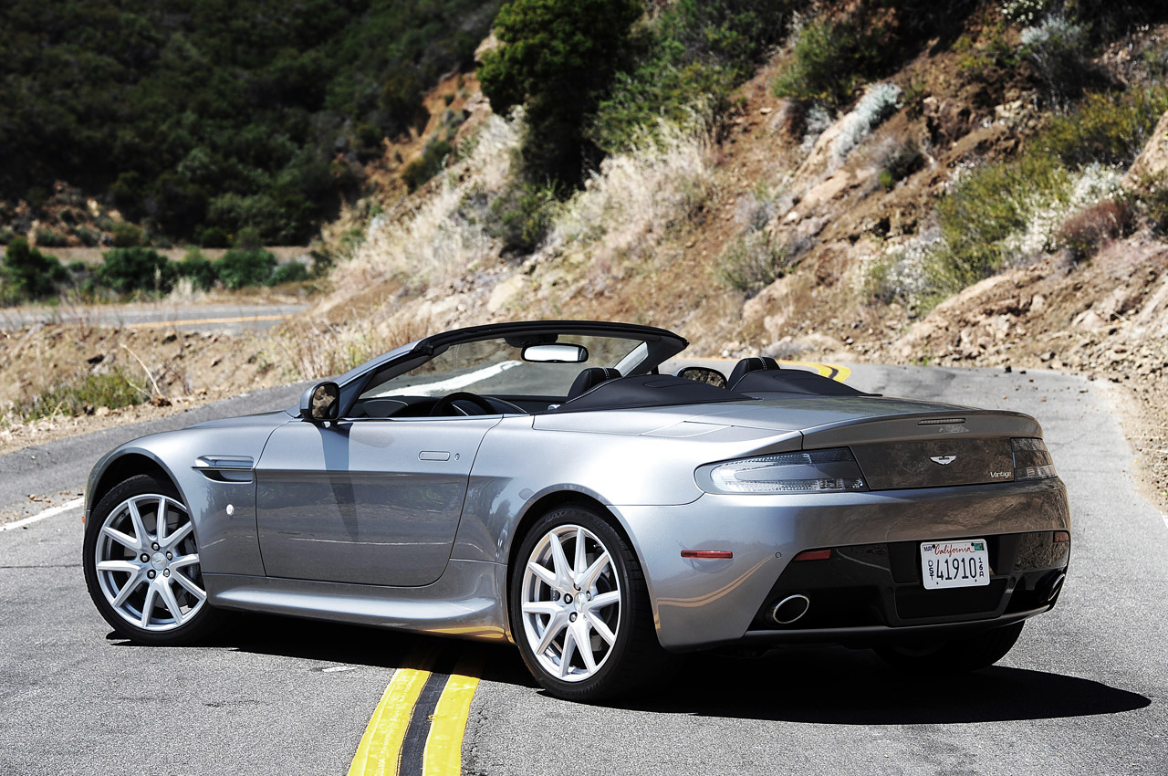 High Resolution Wallpaper   Aston Martin Vantage Roadster 1280x850 px