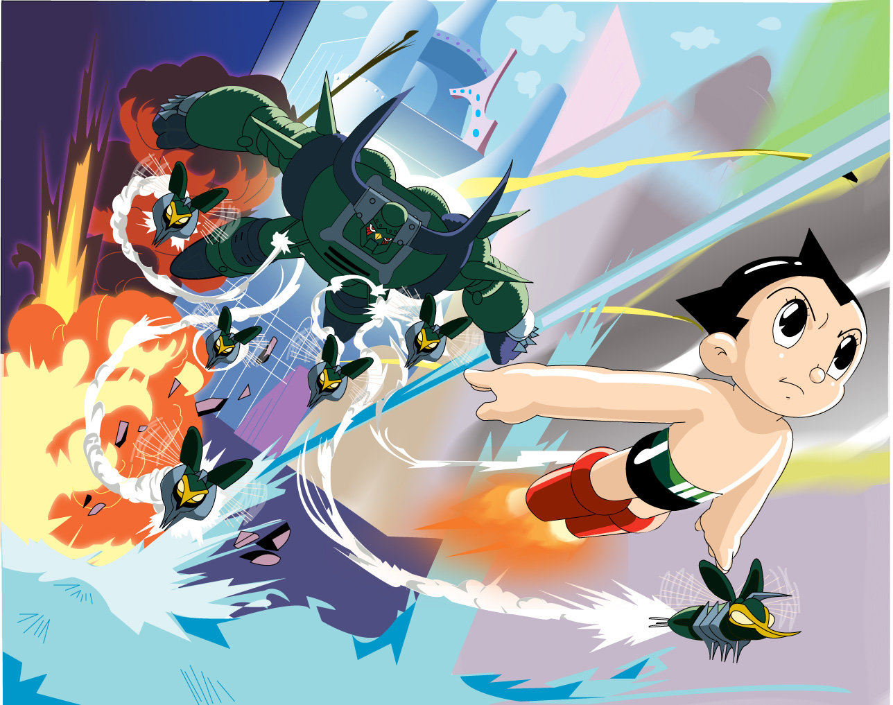 Nice Images Collection: Astroboy Desktop Wallpapers