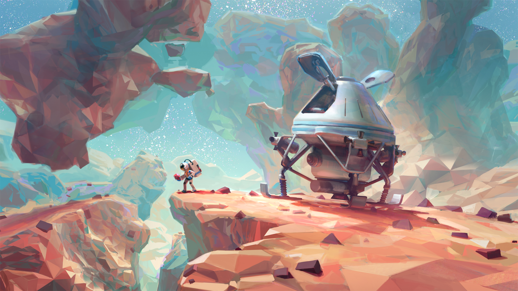 ASTRONEER Backgrounds, Compatible - PC, Mobile, Gadgets| 2000x1125 px