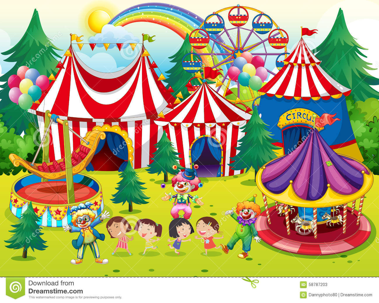 Nice wallpapers At The Circus 1300x1037px