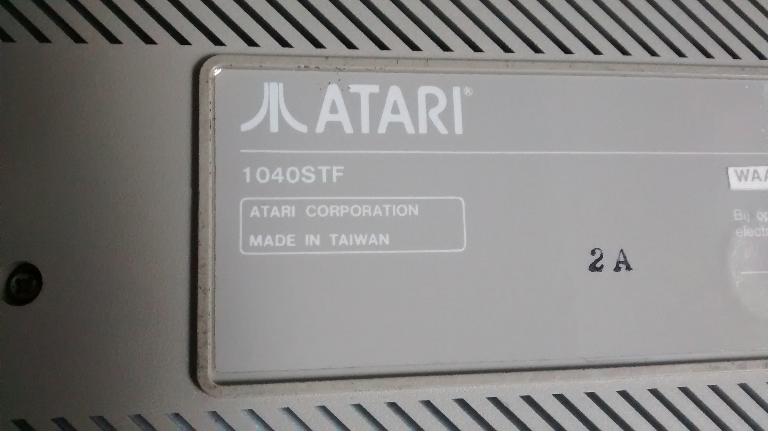 Atari 1040ST Backgrounds, Compatible - PC, Mobile, Gadgets| 2592x1456 px