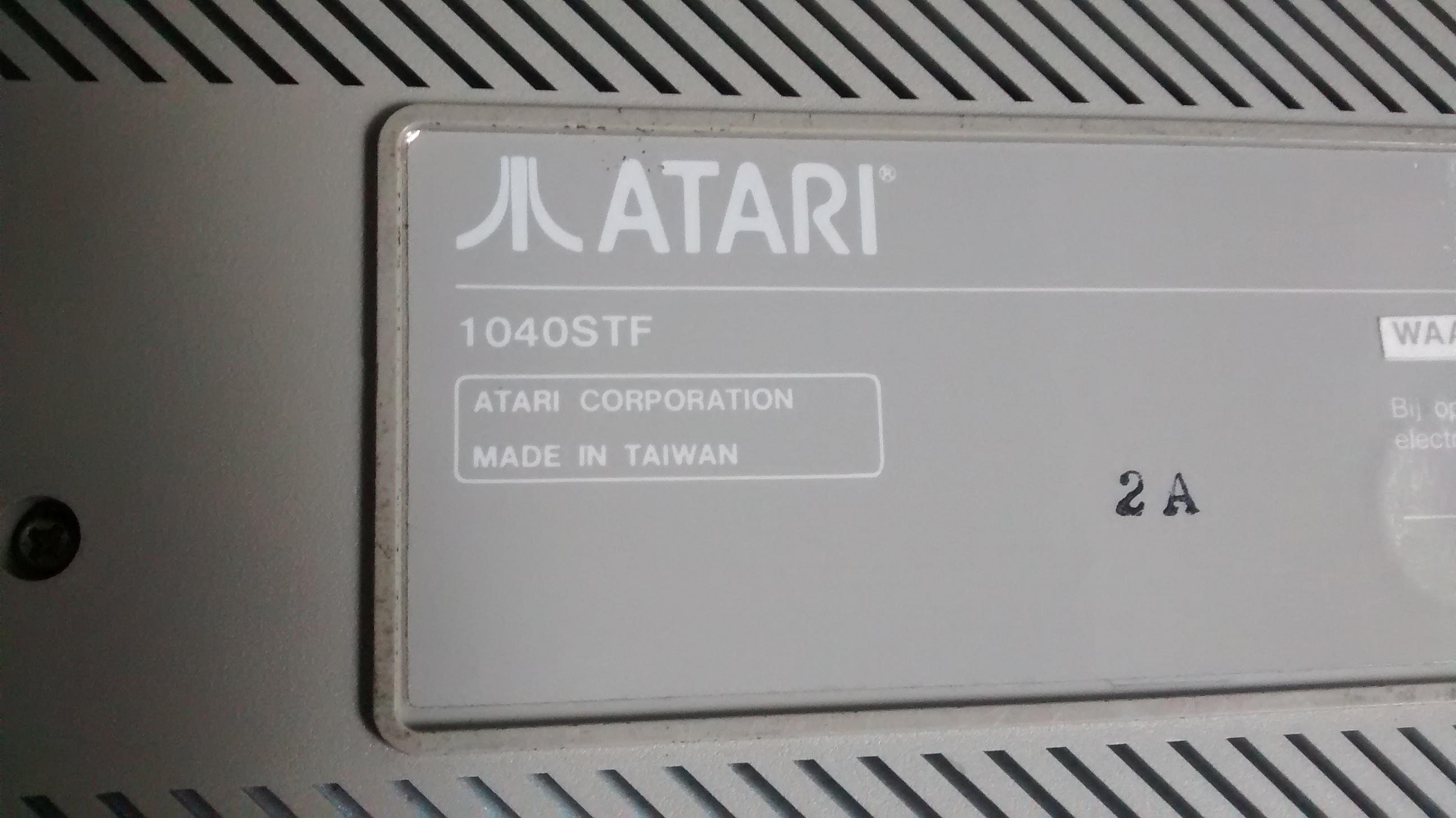 High Resolution Wallpaper | Atari 1040ST 2592x1456 px
