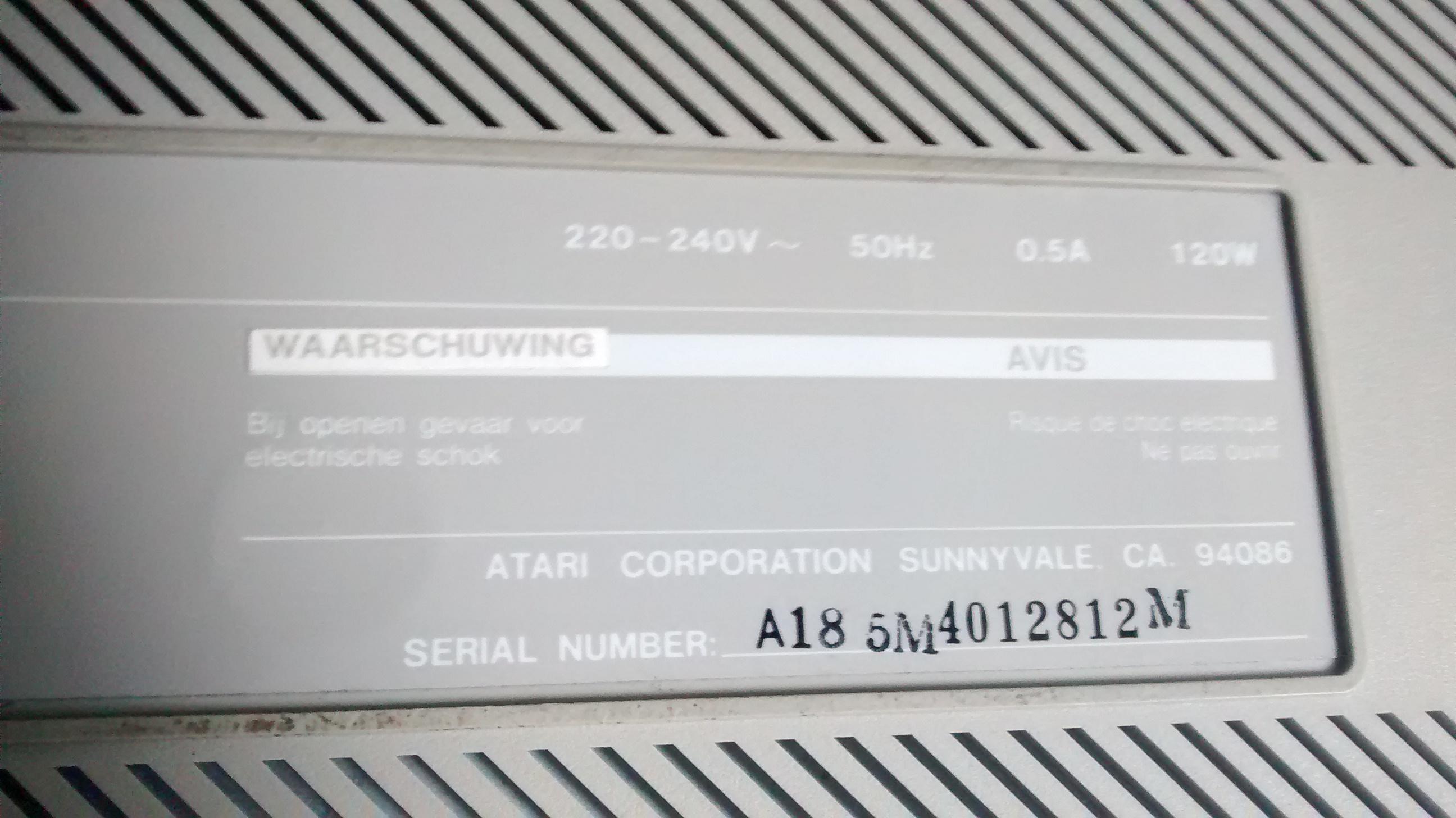 Atari 1040ST Pics, Technology Collection