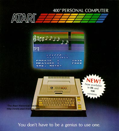 Atari 400 Pics, Technology Collection