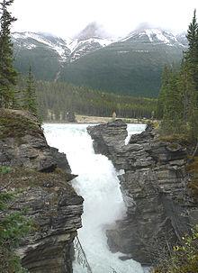 HQ Athabasca Falls Wallpapers   File 20.14Kb