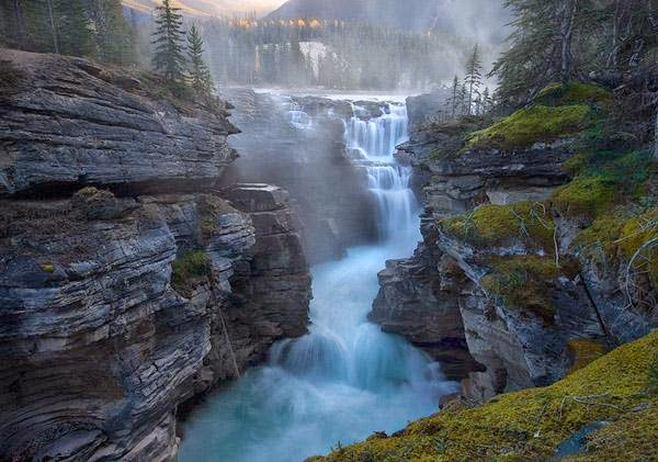 Athabasca Falls High Quality Background on Wallpapers Vista