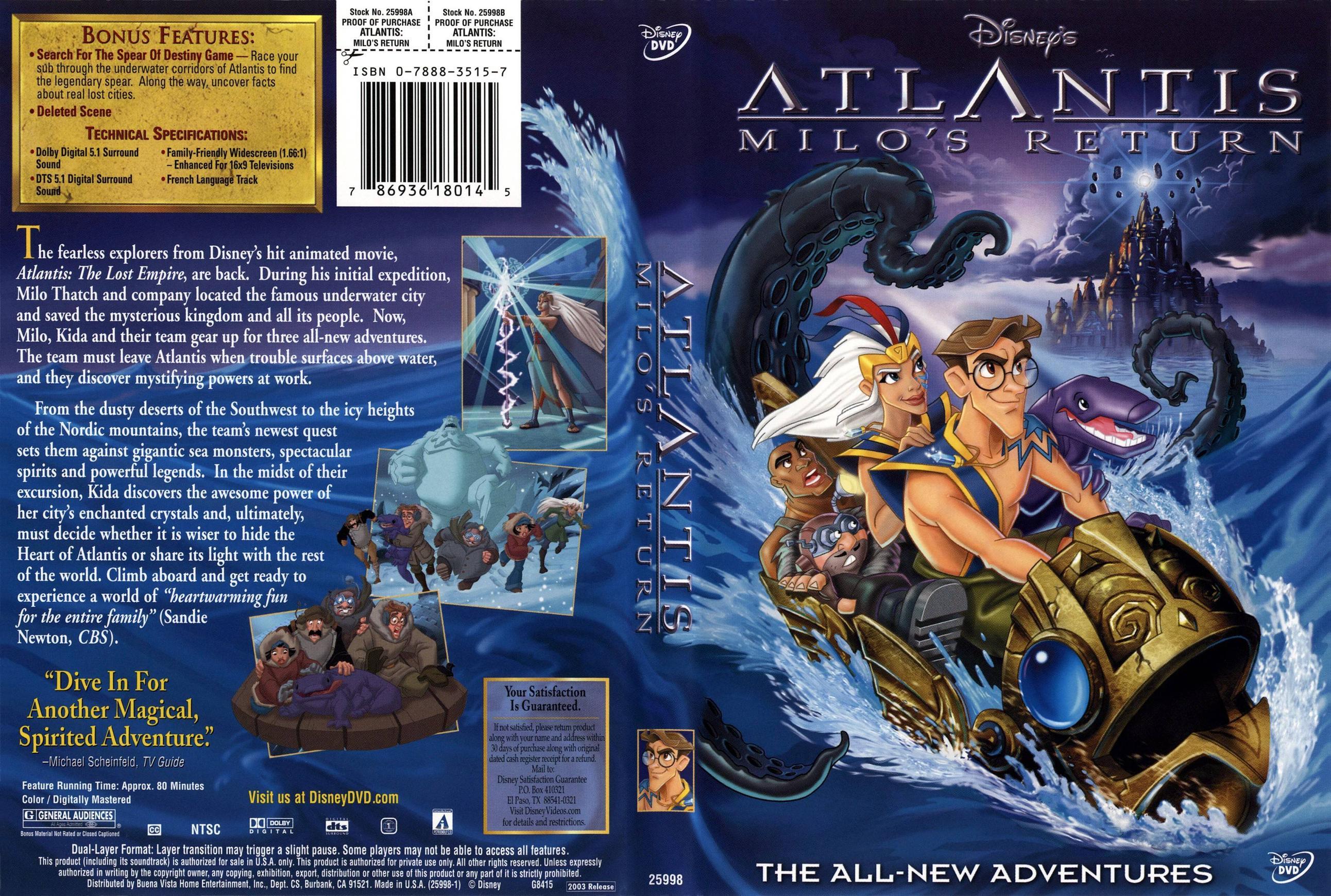 Nice wallpapers Atlantis: Milo's Return 2584x1740px
