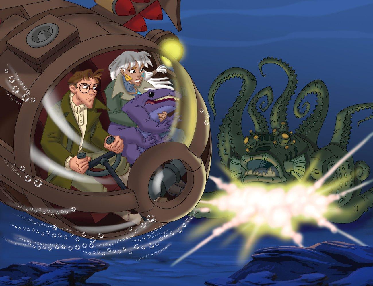 Atlantis: Milo's Return Backgrounds, Compatible - PC, Mobile, Gadgets| 1300x1000 px