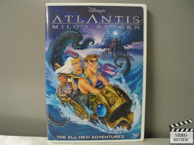 HD Quality Wallpaper | Collection: Movie, 640x480 Atlantis: Milo's Return
