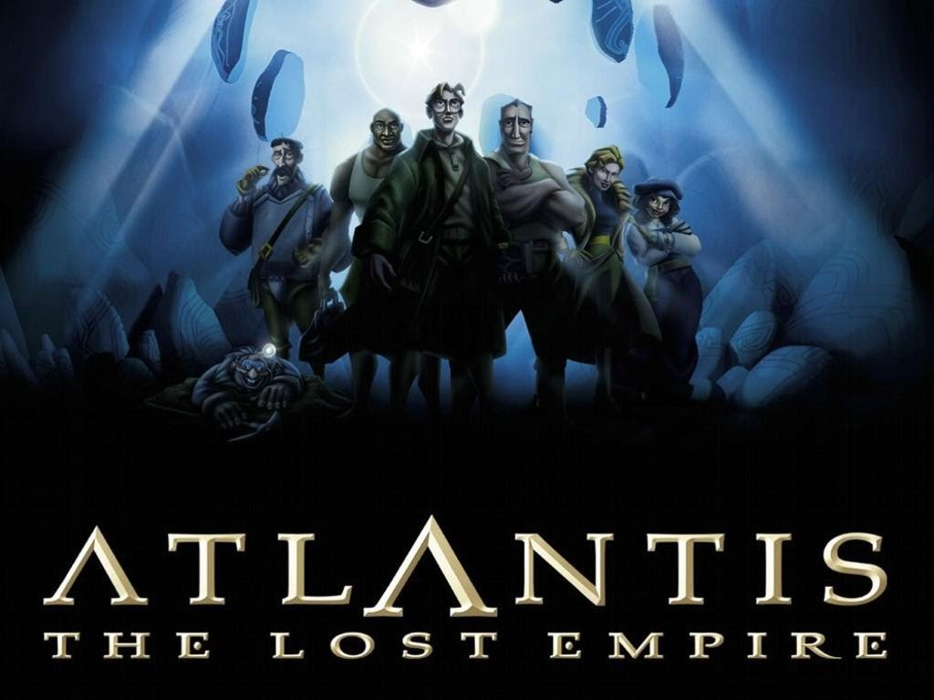 Atlantis: The Lost Empire Backgrounds, Compatible - PC, Mobile, Gadgets| 1024x768 px